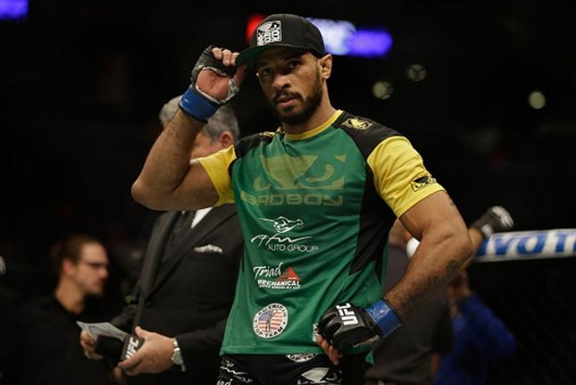 R. Jucão (foto) faria sua segunda luta em sua volta ao Ultimate. Foto: Jeff Gross/UFC