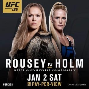 Poster do UFC 195