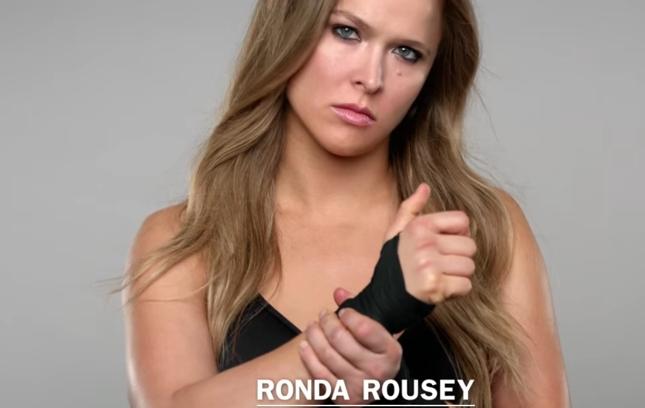 Ronda estrelou seu primeiro comercial do novo patrocinador. Foto: Reprodução