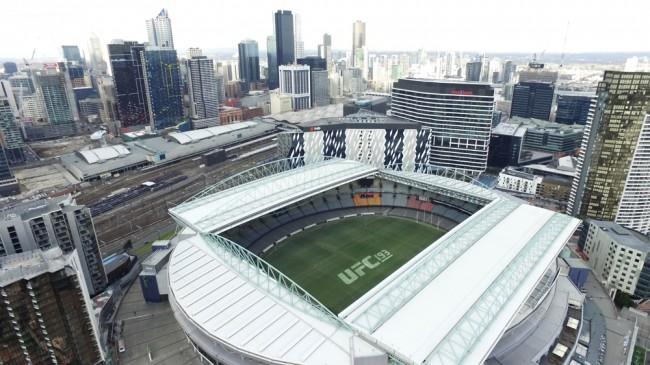 UFC 193 será realizado em estádio australiano. Foto: Divulgação/UFC