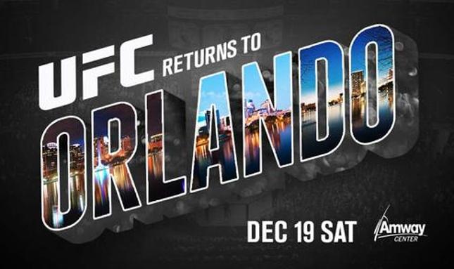 UFC acontecerá em Orlando pela segunda vez na história. Foto: Reprodução/Twitter