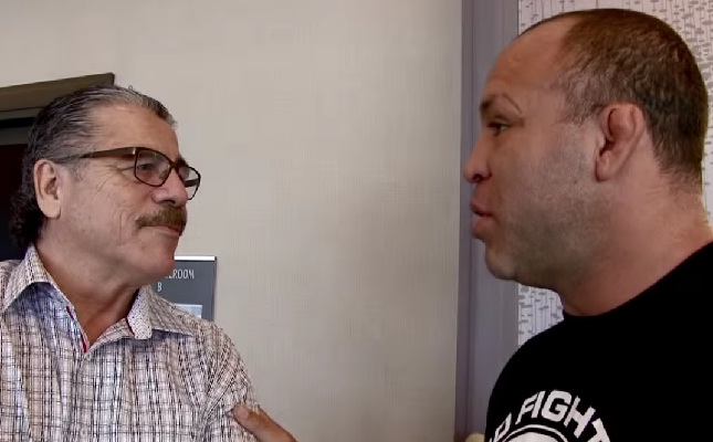 Wand (dir.) e Stitch (esq.): ex-contratados e agora unidos contra o UFC. Foto: Reprodução