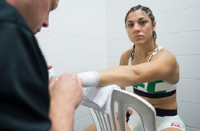 Bethe (foto) tem um cartel de 9 vitórias e uma derrota. Foto: Jeff Bottari/UFC