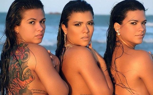 Claudinha (esq.) e suas irmãs. Foto: Reprodução/Instagram