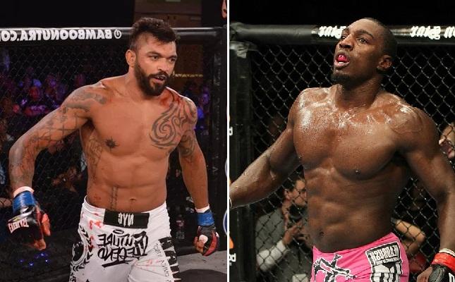Davis (dir.) desafiará McGeary pelo título dos meio-pesados. Foto: Produção SUPER LUTAS (Bellator/UFC)