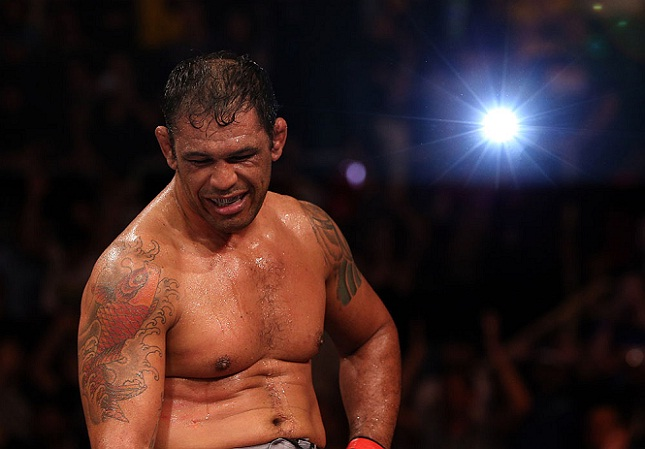 Minotauro (foto) fez 46 lutas no MMA e era profissional desde 1999. Foto: Josh Hedges/UFC