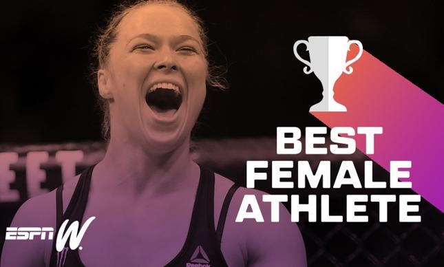 ESPN-W considerou Ronda a melhor atleta da história. Foto: Reprodução