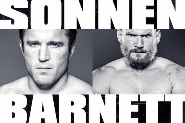 Sonnen vs Barnett no Metamoris: falastrão diz que sim, peso pesado nega. Foto: Reprodução