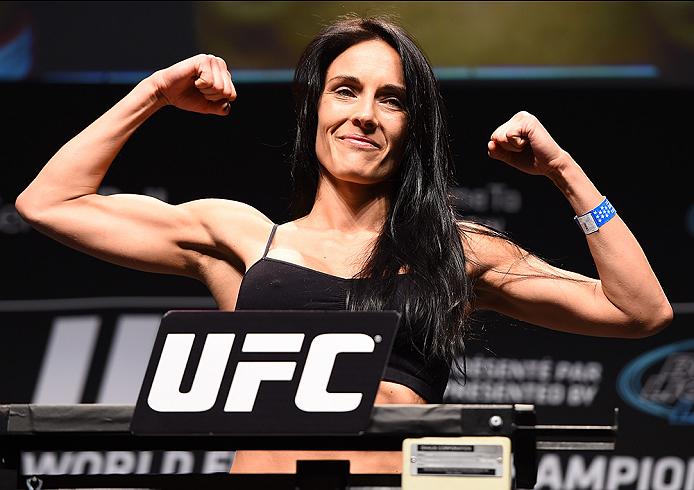 Létourneau (foto) enfrentará a campeã em novembro. Foto: Divulgação/UFC