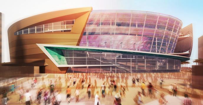 Novo ginásio de Las Vegas receberá o UFC 200. Foto: Divulgação