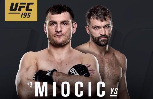 Miicic e Arlovski se enfrentam em janeiro. Foto: Divulgação/UFC