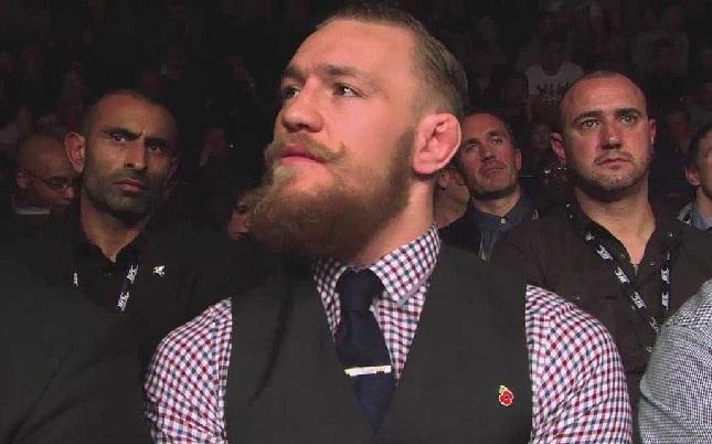 McGregor não perdeu a pose nem com a multa de R$ 525 mil. Foto: Reprodução