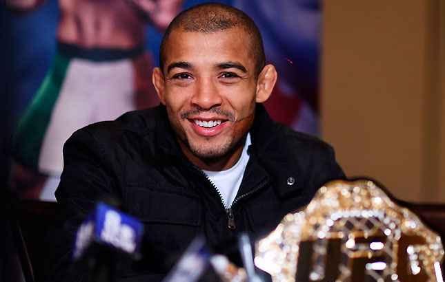 Aldo (foto) vai enfrentar McGregor em dezembro. Foto: Josh Hedges/UFC
