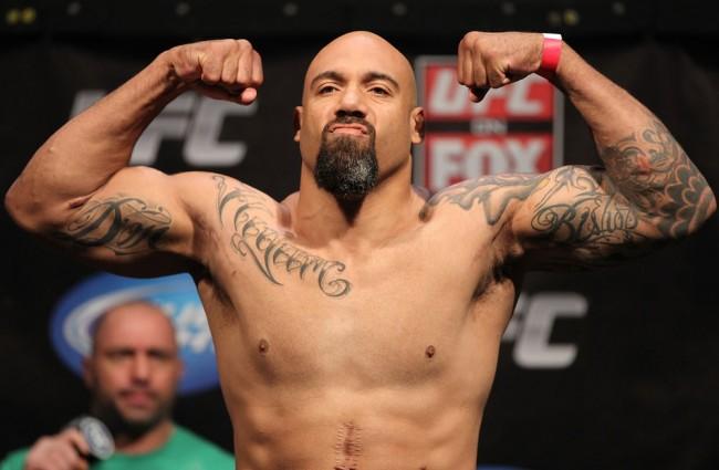 Johnson lutou no UFC entre 2012 e 2013. Foto: Divulgação