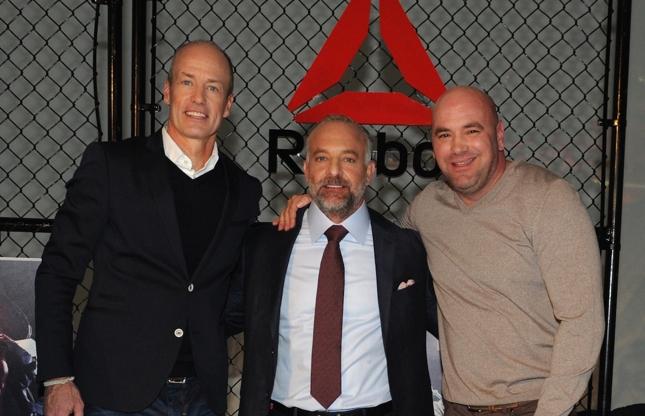 Acordo entre UFC e Reebok entrou em vigência em meados de 2015. Foto: Divulgação