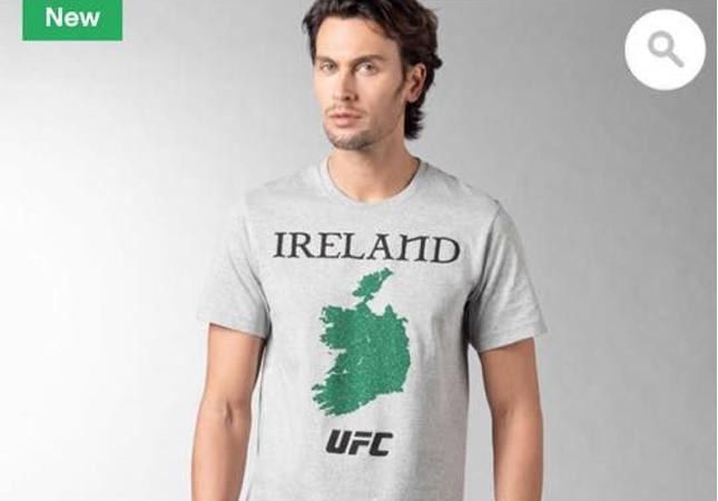 Reebok gerou polêmica com camisa que ignorou Irlanda do Norte. Foto: Reprodução/Reebok