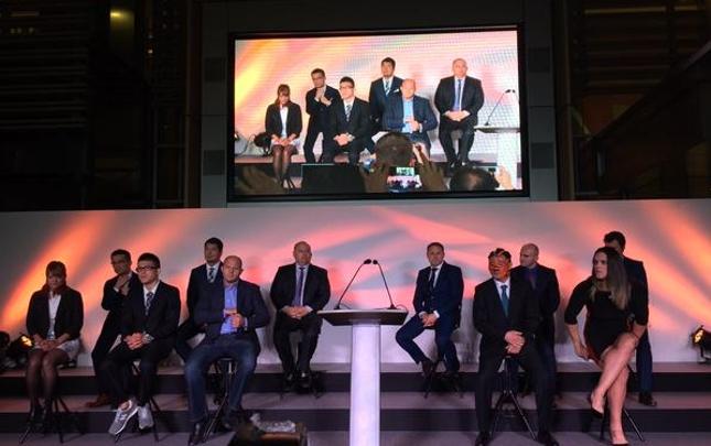 Coletiva do RFF reuniu atletas e dirigentes no Japão. Foto: Reprodução