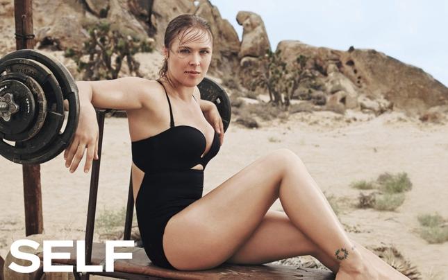 """Ronda foi capa da revista """"Self"""". Foto: Divulgação"""