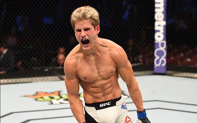 S. Northcutt (foto) venceu no UFC 200. Foto: Josh Hedges/UFC