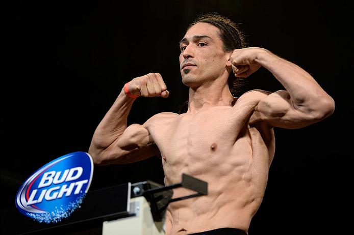 Trevino (foto) caiu no exame antidoping do UFC 192. Foto: Divulgação/UFC