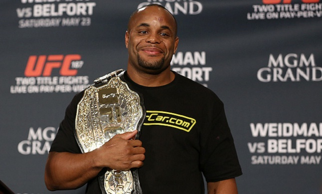 D. Cormier (foto) é campeão do UFC desde maio. Foto: Divulgação