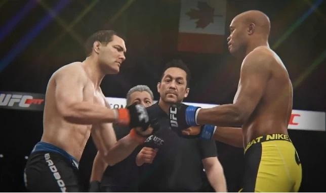 Primeira versão de EA Sports UFC foi lançada em 2014. Foto: Reprodução
