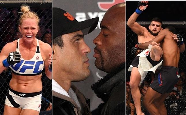 Holm, Vitor, Anderson e o UFC FN Monterrey são alguns dos destaques do programa desta semana. Foto: Produção SUPER LUTAS