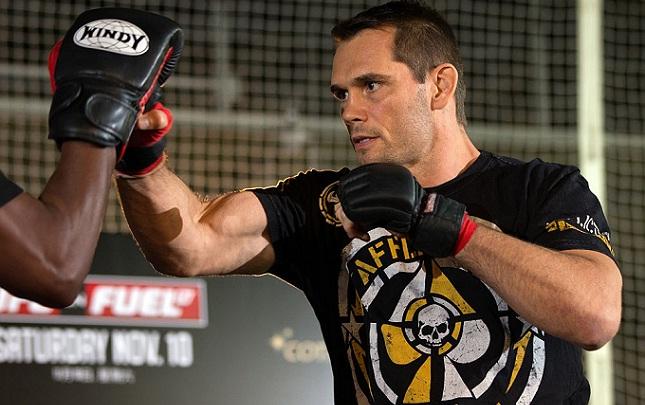 R. Franklin (foto) foi campeão do UFC até o início do reinado de A. Silva. Foto: Josh Hedges/UFC