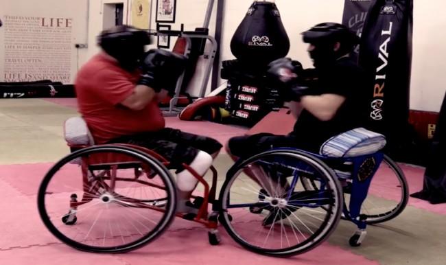 Luta entre portadores de deficiência será realizada em dezembro. Foto: Reprodução