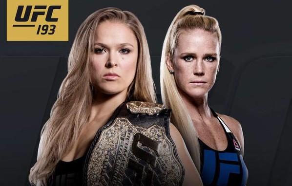 Luta entre Ronda e Holm acontecerá na Austrália. Foto: Divulgação
