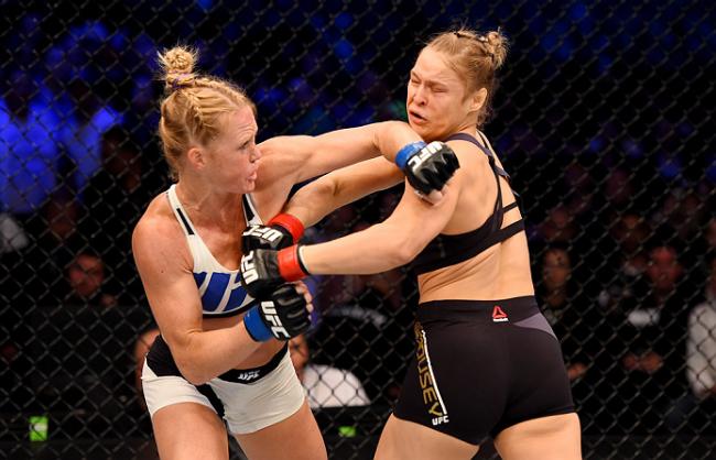 Holm venceu Ronda no UFC 193. Foto: Divulgação