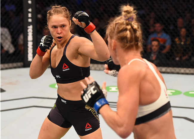 Ronda perdeu várias posições em ranking do UFC com derrota surpreendente. Foto: Divulgação