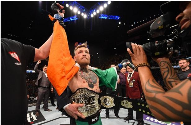 McGregor agora é o terceiro melhor lutador peso por peso do UFC. Foto: Divulgação