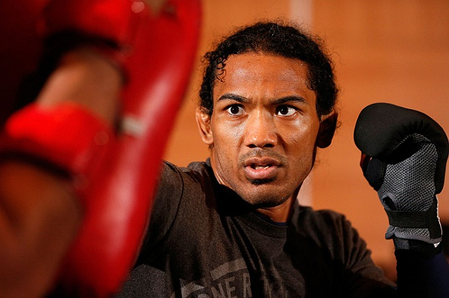 Henderson (foto) está em alta no mercado do MMA. Foto: Josh Hedges/UFC