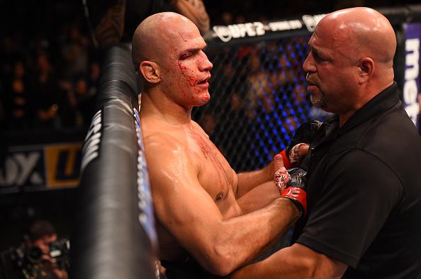 Cigano perdeu para Overeem no UFC em Orlando. Foto: Josh Hedges/Zuffa LLC
