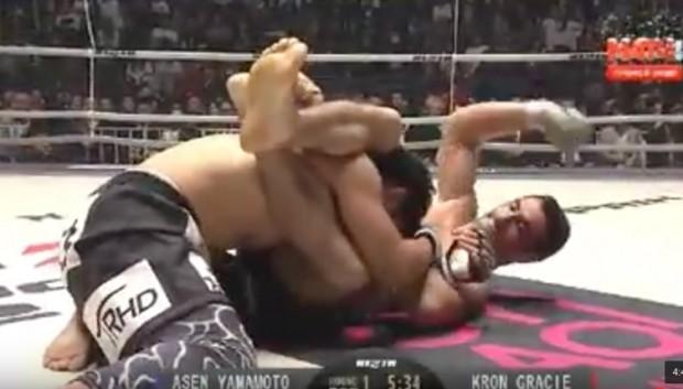 Kron Gracie venceu luta no Japão. Foto: Reprodução