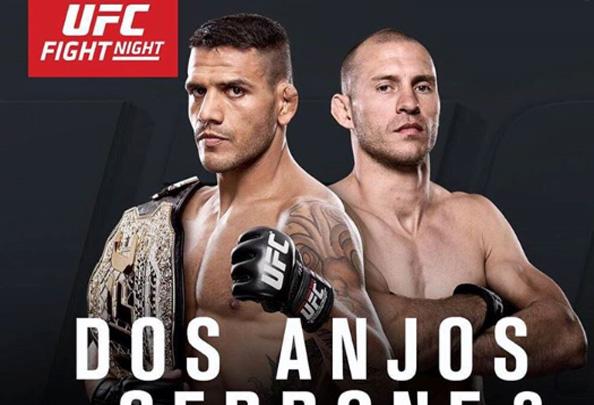 Dos Anjos enfrenta Cerrone na luta principal do UFC on FOX 17. Foto: Divulgação