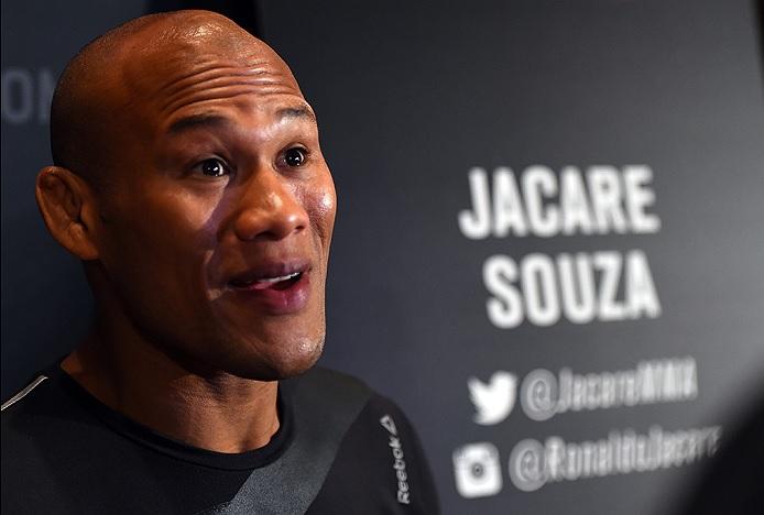 Jacaré enfrenta Belfort em Curitiba. Foto: Josh Hedges/UFC