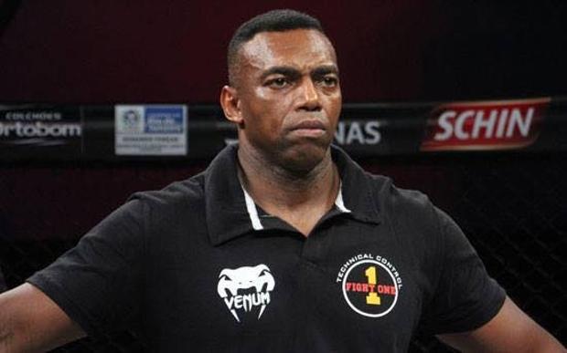 Alessandro Souza (foto) foi árbitro no Jungle e no circuito nacional. Foto: Reprodução