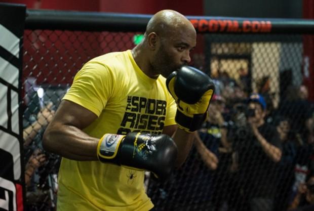 Anderson enfrenta D. Brunson dia 11 de fevereiro. Foto: Josh Hedges/UFC