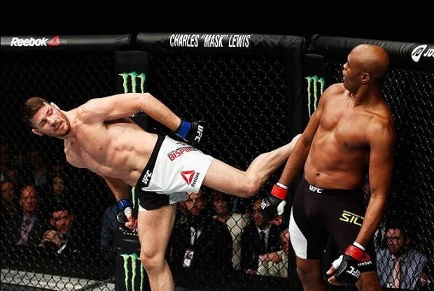 Bisping x Anderson será o tema principal do Hangout SUPER LUTAS. Foto: Dean Mouhtaropoulos/UFC
