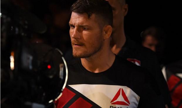 Bisping não poupou críticas a Henderson. Foto: Josh Hedges/UFC
