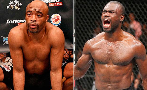 Anderson (esq.) x Hall (dir.), duelo pode acontecer no Paraná. Foto: Produção SUPER LUTAS (UFC/Divulgação)