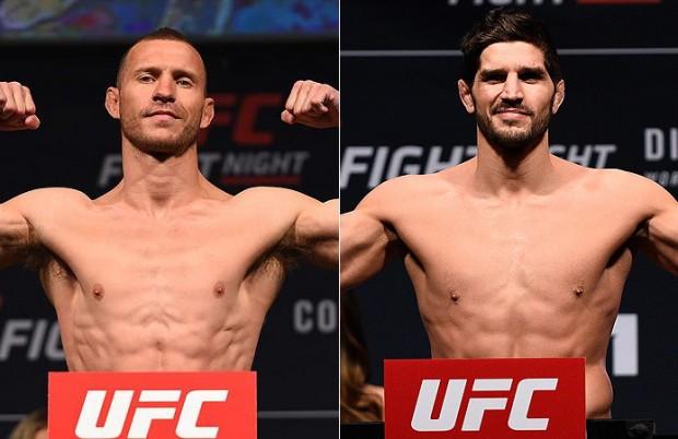 Cerrone e Coté deverão se enfrentar em Ottawa. Foto: Produção Super Lutas/UFC