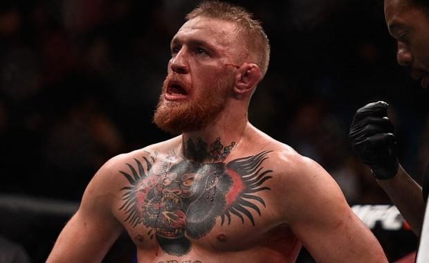 McGregor (foto) conheceu sua primeira derrota no octógono. Foto: Jeff Bottari/UFC