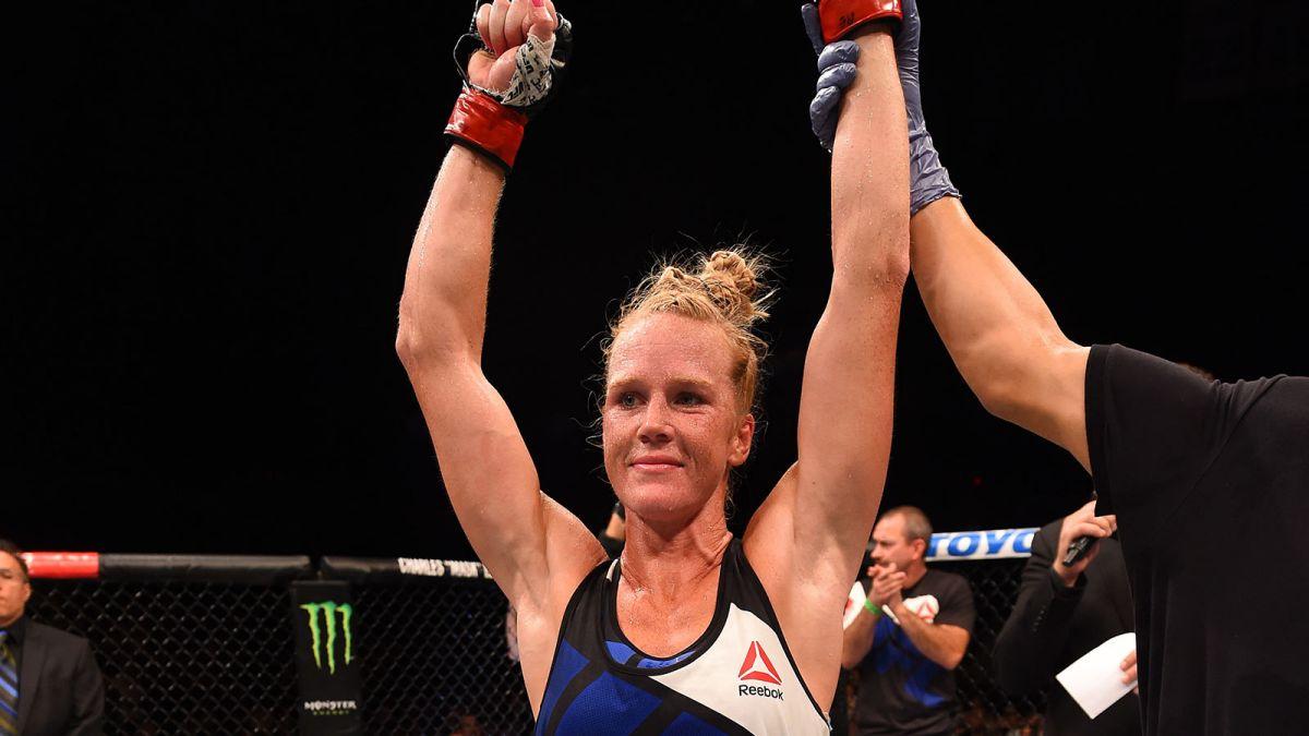 Holm é ex-campeã do UFC. Foto: Divulgação