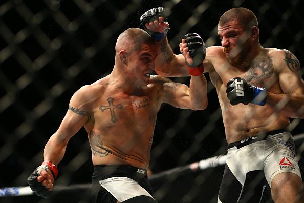 Sanchez bateu Miller em duelo de veteranos. Foto: Divulgação/UFC