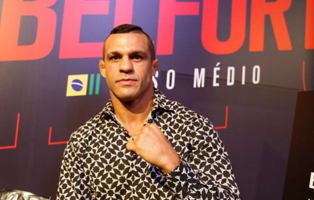 Belfort (foto) enfrentará R. Jacaré em Curitiba. Foto: Alexandre Schneider/UFC