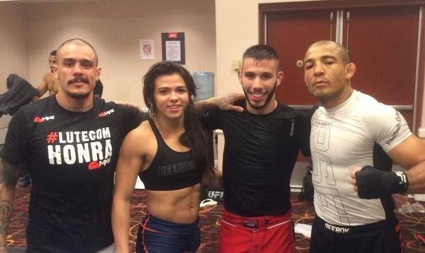 Aldo posta foto de treino em Las Vegas e alfineta McGregor. Foto: Reprodução