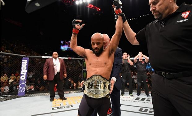 DJ (foto) defendeu seu cinturão pela oitava vez. Foto: Josh Hedges/UFC
